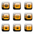 Royalty-Free Stock Imagen vectorial: Web icon set