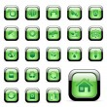 Vector environmental icons — Stock Vector