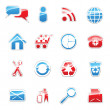 Web icons set — Vector de stock #2460853