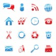 Vettoriale Stock : Web icons set