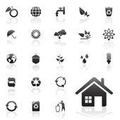 Recicle значки — Cтоковый вектор