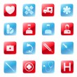 Royalty-Free Stock Vector Image: Medical icons set