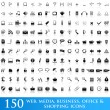 Icons set for web applications - Stock Vector
