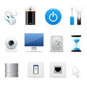 ícones de computadores — Vetorial Stock
