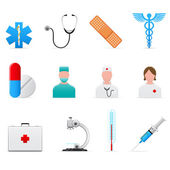 Medical icons set — Stockvector