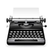Vector typewriter — Stock Vector