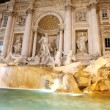 Trevi Fountain - Rome — Stock Photo
