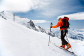 Alpine Touring — Stock Photo