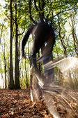 Mountain bike — Stock Photo