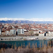 Turin panoramic view - Stock Photo