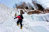 Is klättrare — Stockfoto