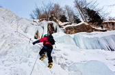 Escalador de hielo — Foto de Stock