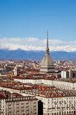 Turin panoramautsikt — Stockfoto