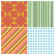 Stripe collection — Stock Vector