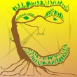 Royalty-Free Stock 矢量图片: Tree man