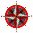 Royalty-Free Stock Vector Image: Wind rose 3