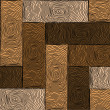Royalty-Free Stock Imagen vectorial: Wooden colored parquet