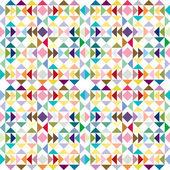 Driehoek pastel textuur — Stockvector