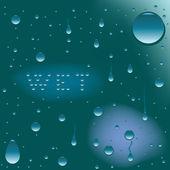 Wet — Stock Vector