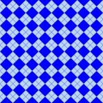 Sweater texture blue — Stock Vector