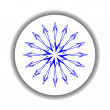 Snow flake medallion 6 — Stock Vector #1477799