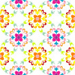 Stock Vector: Seamless floral pattern 3