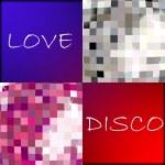 Love disco — Stock Vector