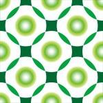 Green circles seamless pattern — Stock Vector #1478179