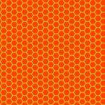 miel cera transparente textura — Vector de stock