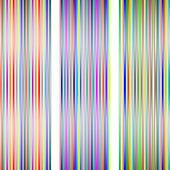 3 diferent lighted stripes on white — Stock Vector