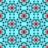 Seamless flowers pattern 2 — Stock Vector
