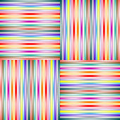 Lighted stripes 1 — Stock Vector