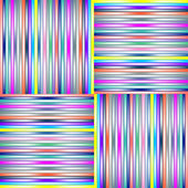 Lighted stripes 2 — Stock Vector