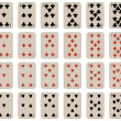 Royalty-Free Stock Vektorgrafik: Complete set of kids playing cards