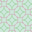 Stock vektor: Geometric abstract seamless pattern 2 ex