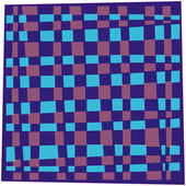 Handkerchief blue — Stock Vector