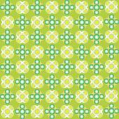 Green bubbles seamless texture — Stock Vector
