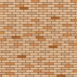 Wall made of bricks — Stock Vector #2044709