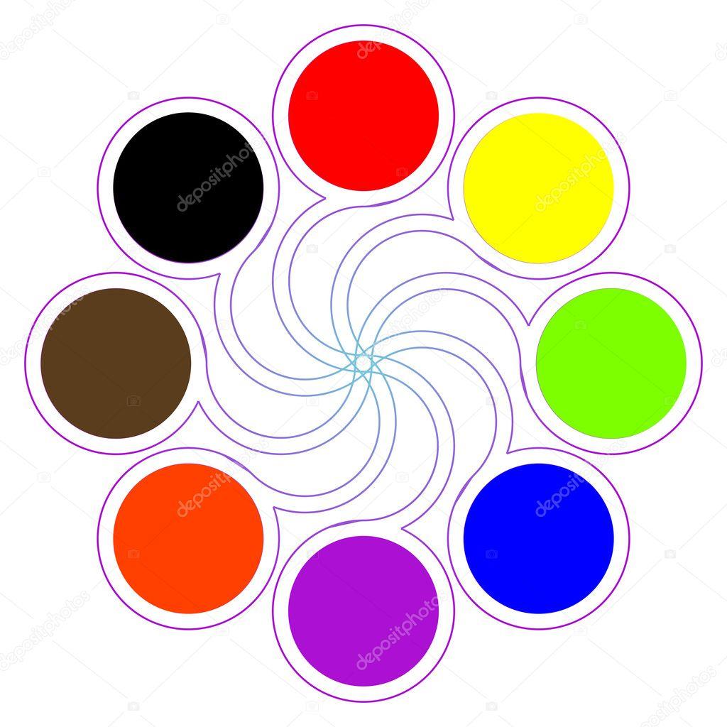 Рисунок цветовые