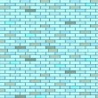 Blue seamless bricks wall — Stock Vector #2415777