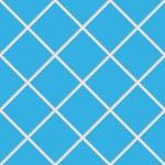 Blue seamless ceramic tiles — Stock Vector