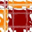 Royalty-Free Stock Vector Image: Orange and red ceramic tiles