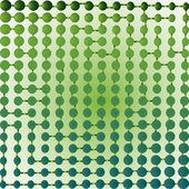 Half tone maze — Stock Vector