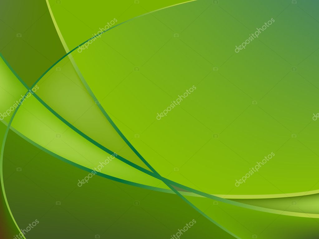 Abstract green background, vector art illustration — Stock Vector #2415743