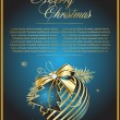 Royalty-Free Stock Vectorafbeeldingen: Christmas decorative ball made of holida