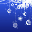 Christmas decorative  background — Lizenzfreies Foto