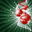 Christmas decorative background — Stock Photo