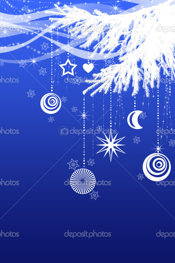 Christmas decorative  background — Stock Photo #1255651