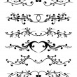 Vector ornament In flower style - Vettoriali Stock 