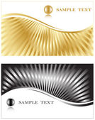 Business cards. Vector. — Stock Vector